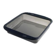 Mastrad Translucent Grey Silicone 9 Inch Square Cake Pan