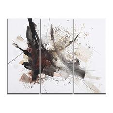 """Artistic Splash"" Canvas Art Print, 3 Panels, 36""x28"""