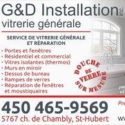 G&D Installation Vitrerie générale's photo