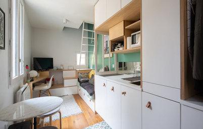 До и после: Квартира 18 кв.м., переделанная из двух... кладовок