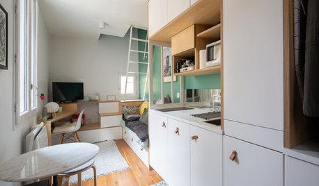 Avant/Après : Deux débarras optimisés en mini-duplex de 18 m2