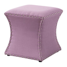 Admirable 50 Most Popular Purple Ottomans And Footstools For 2019 Houzz Alphanode Cool Chair Designs And Ideas Alphanodeonline