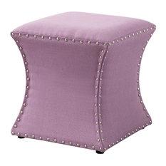 Pleasant 50 Most Popular Purple Ottomans And Footstools For 2019 Houzz Creativecarmelina Interior Chair Design Creativecarmelinacom
