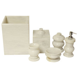 Good Traditional Bathroom Accessory Sets by Rembrandt Home