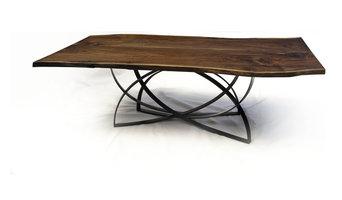 Black Walnut Dining Table by Cherrywood Studio