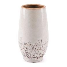Ibera Vase, Large, White
