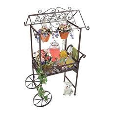 Jardin A La Francaise Flower Pushcart