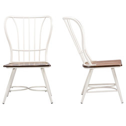 Farmhouse Dining Chairs by Baxton Studio
