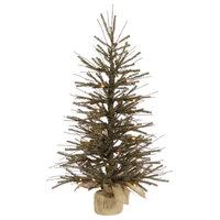 "24"" Vienna Twig Artificial Christmas Tree, 35 Warm White LED Lights"
