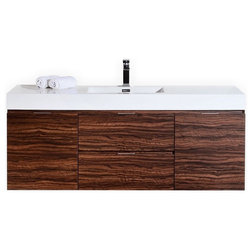 Nice Contemporary Bathroom Vanities And Sink Consoles by Kubebath