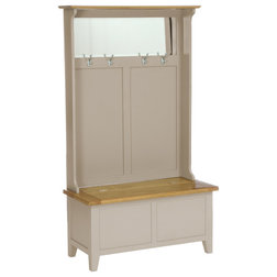 Country Accent & Storage Benches by Besp-Oak Furniture