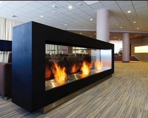 Magnus Bio Ethanol Freestanding Fireplace - Indoor Fireplaces