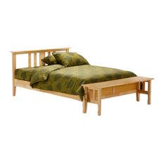 Folding Bench Footboard Dual Series Full (P Series Or K Series), Natural