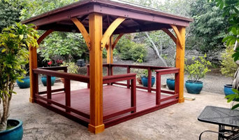 Customized Gazebo Before and After