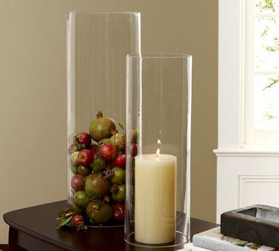 Candleholders by Pottery Barn