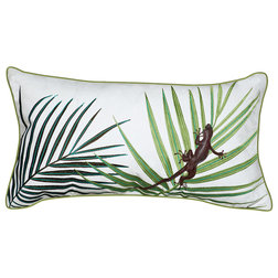 Tropical Outdoor Cushions And Pillows by Rightside Design LLC