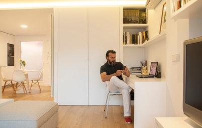 Visita privada: Un dúplex minimalista, pero muy acogedor