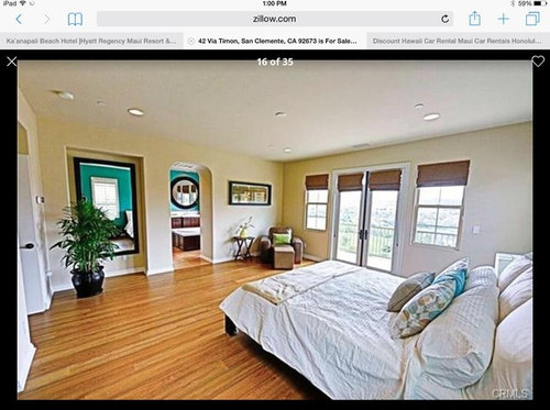 Master bedroom paint color and master bathroom paint color