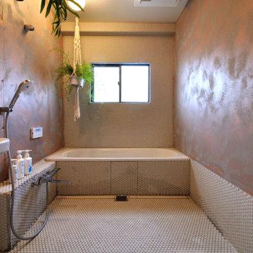 S様邸/在来浴室リフォーム(wedi自由設計)