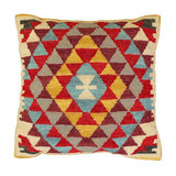 Palace Punja Kilim Cushion 60cm - Filled