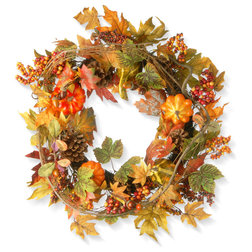 Farmhouse Wreaths And Garlands by National Tree Company