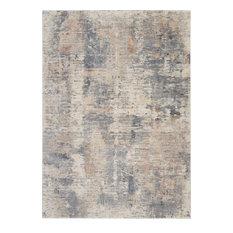 """Rustic Textures Area Rug, Beige/Gray, 7'10""""x10'6"""""""