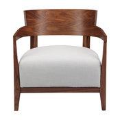 Volta Arm Chair, Cream White