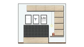 Konzeptstudie - Schlafzimmer