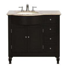 """38"""" Modern Single Bathroom Vanity"""