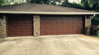 New Gallery Style Clopay Garage Door Wood Grain