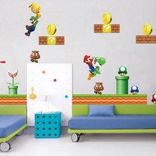 Super Mario Wall Murals Kids Bedroom Decorating Ideas Best Wall Murals Galle