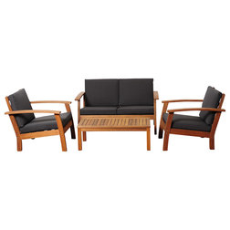 Transitional Outdoor Lounge Sets by International Home Miami Corp