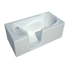 30 x 60 Whirlpool Jetted Step-in Bathtub, Left Drain Configuration