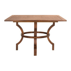 Most Popular Square Trestle Dining Room Tables For Houzz - Square trestle dining table