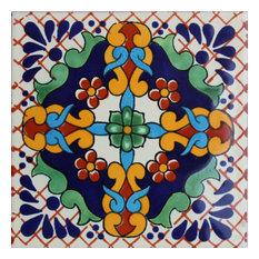 6x6 4 pcs Macotera Talavera Mexican Tile