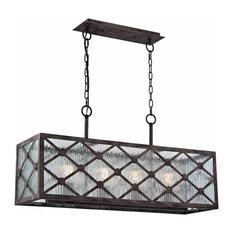 web buy elk lighting 32124 4 radley 4 light linear chandelier malted