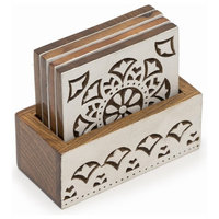 Aashiyana Coasters, Set of 4, Matr Boomie