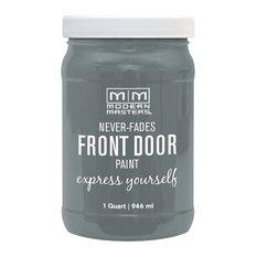 Modern Masters Front Door Paint Satin, Mysterious, 1 Qt.