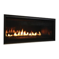 "Superior 42"" DV Electronic Ignition Linear Fireplace With Lights, Natural Gas"