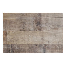 Reclaimed French Oak Planks Vieux Mas, 100 Sq. ft., Solid