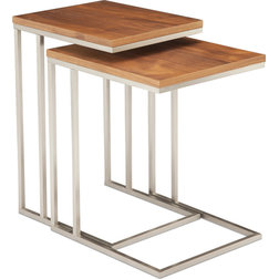 Contemporary Coffee Table Sets by MODTEMPO LLC