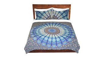 Mandala Bedding Queen Duvet Covers, Bohemian Mandala Quilt Covers Set
