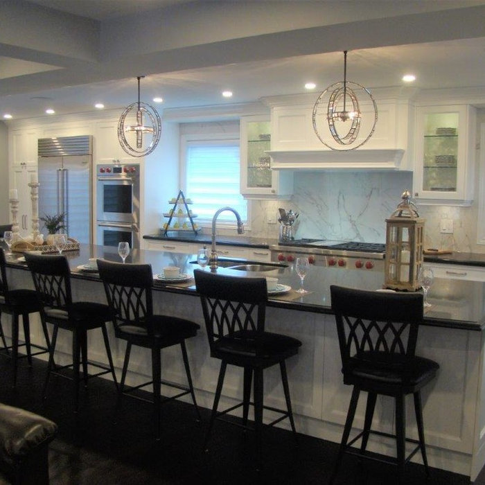 Major Main Floor reno, wall removals, new kitchen location