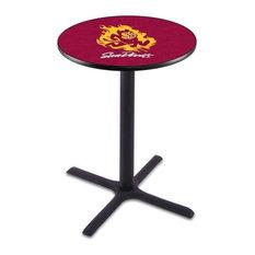 Arizona State Pub Table with Sparky Logo 36-inchx36-inch by Holland Bar Stool Company