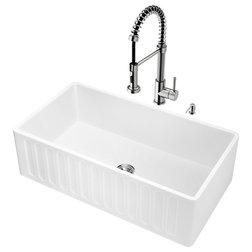 Contemporary Kitchen Sinks by ergode