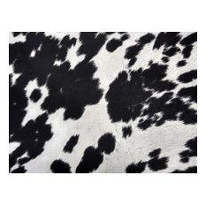 Black & White Faux Cow Hide Fabric, Cowhide