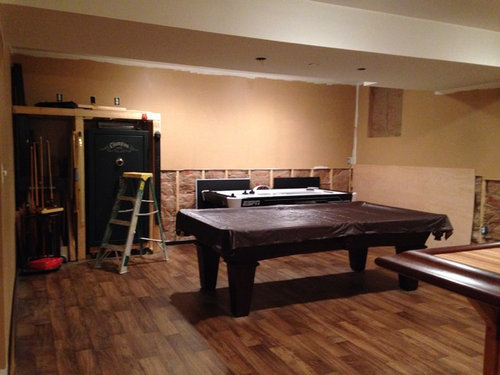 Paint help! What color to paint behind the bar and in the pool table
