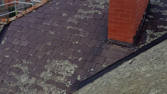 Roof Replacement with Slate