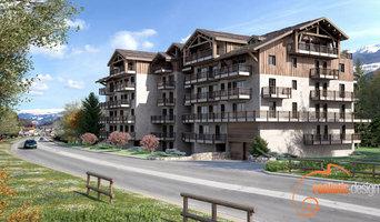 Projet 3D de logements pour architecte
