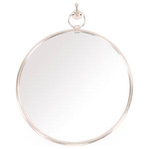 79cc87bdf30 Nova Round Metal Mirror - Transitional - Wall Mirrors - by Uttermost